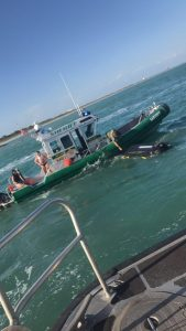 QUICK ACTION BY PILOT AND MARINE UNIT DEPUTY SAVES LIVES