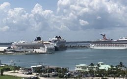 CRUISE LINES SUSPEND OPERATIONS AT PORT CANAVERAL