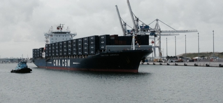 First Container Ship Calls at New Port Canaveral Terminal