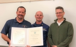 Canaveral Pilots Receive Coast Guard Award